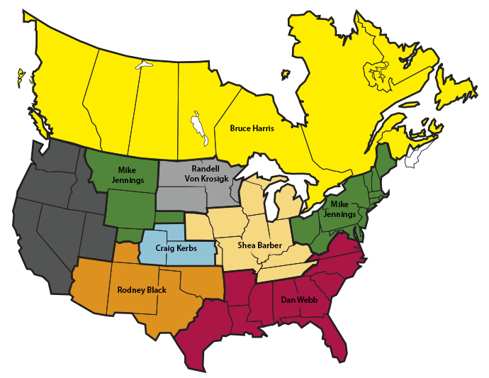 Feed in a Drum Territory Map